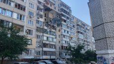 В столичной многоэтажке произошел взрыв газа