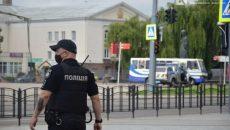 В центре Луцка захватили автобус с пассажирами