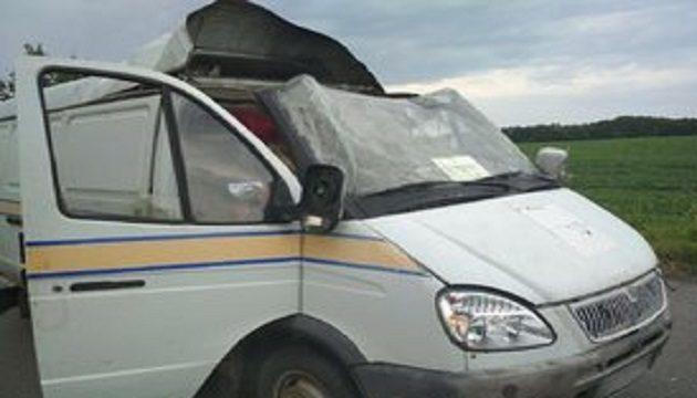 На Полтавщине неизвестные взорвали автомобиль «Укрпочты»