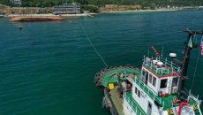 АМПУ объявила тендер для поднятия затонувшего танкера в порту Одессы