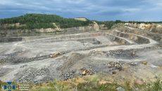 На Житомирщине выявили нелегальную добычу гранита
