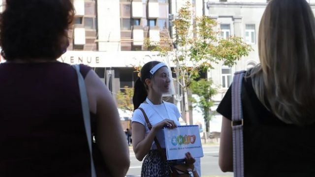 В Киеве начали проводить бесплатные пешеходные экскурсии