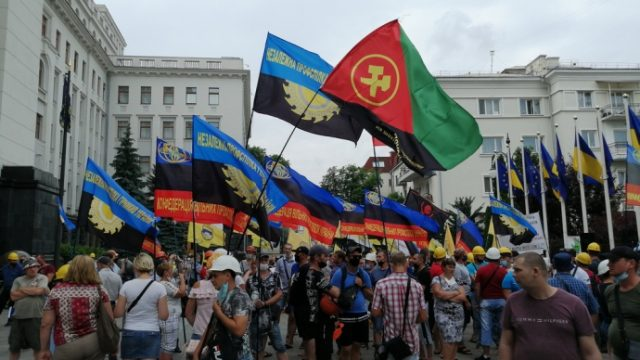 Шахтеры прекратили акцию протеста под ОП