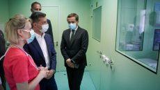 Президент посетил Волынский областной перинатальный центр