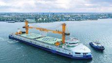 «Нибулон» установил рекорд грузоперевозок по рекам Украины