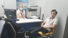 В столице иностранец захватил отделение банка