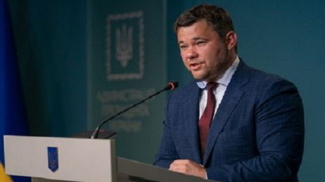 В Киеве ночью подожгли авто экс-главе Офиса президента Богдану (ФОТО)