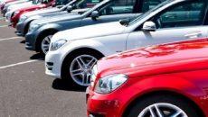 Импорт легковых авто в Украину сократился на 36%