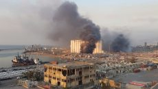 Число жертв взрыва в Бейруте достигло 78