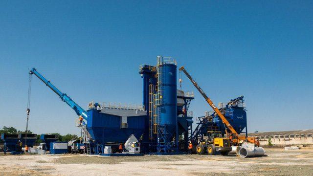 Украинская группа компаний RDS запустит новый асфальтобетонный завод в Новой Каховке