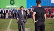 Зеленский открыл первый матч с участием возрожденного ФК