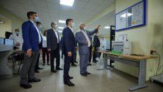 Президент ознакомился с работой НПП «Радий»