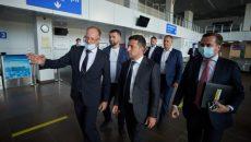 Зеленский посетил Николаевский международный аэропорт