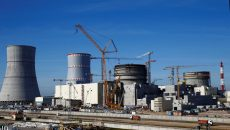 В энергоблок БелАЭС впервые загрузили топливо