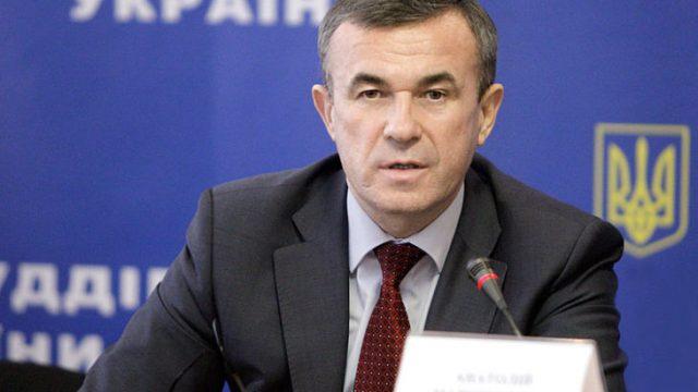 Для главы Государственной судебной администрации избрана мера пресечения