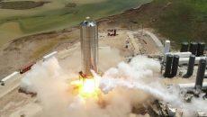 SpaceX запустила прототип корабля Starship