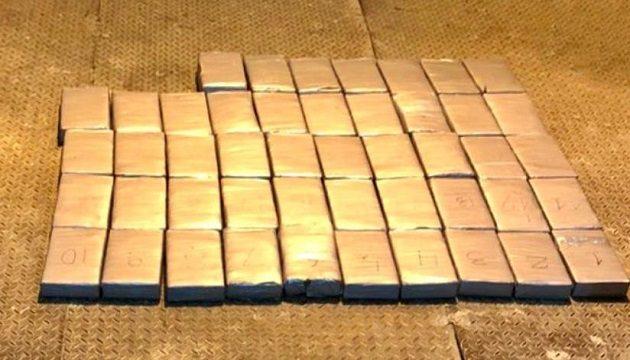 На Одесчине задержали рекордную партию кокаина из Эквадора