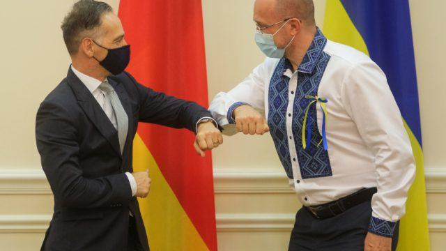 Денис Шмыгаль встретился с главой МИД Германии Хайко Маасом