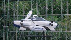 Стартап SkyDrive начал открытые испытания летающего электромобиля