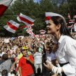 Кандидат в президенты Беларуси Тихановская покинула страну