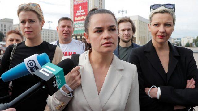 Штаб Тихановской анонсировал ее встречи с руководством Германии