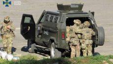 В Украине прошли контрдиверсионные учения