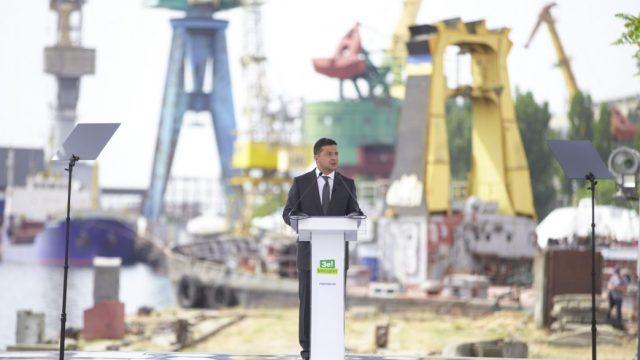 Зеленский обещает ХГЗ