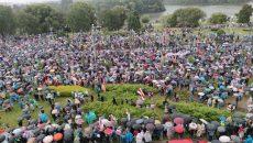 Митингующие в Минске пришли к резиденции Лукашенко