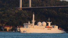 Французский разведывательный корабль вошел в Черное море
