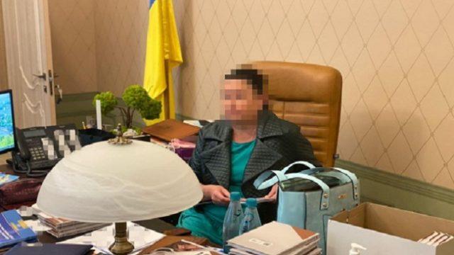 Глава Харьковского окружного админсуда попалась на взятке