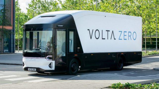 Стартап Volta Trucks представил электрогрузовик Volta Zero