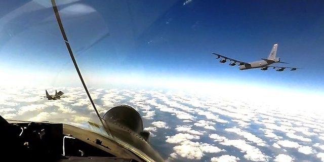 Американские стратегические бомбардировщики снова в украинском небе