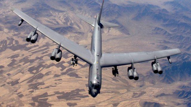 США вывели из Европы стратегические бомбардировщики B-52H