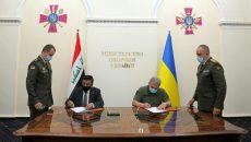 В Киеве состоялась встреча министров обороны Украины и Ирака