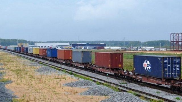 В Киев прибыл девятый контейнерный поезд из Китая