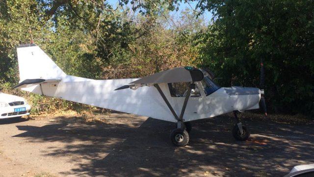 В Черкассах у контрабандиста изъяли самолет
