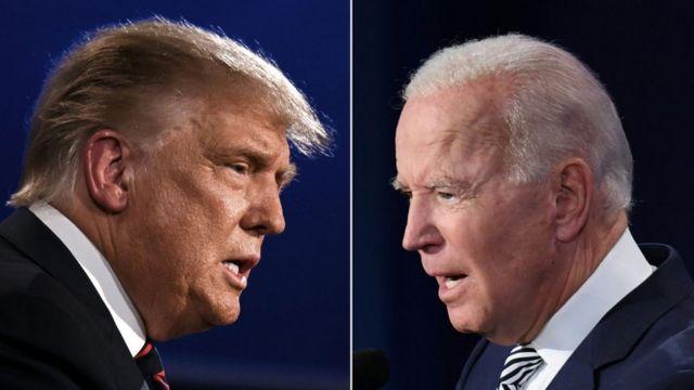 В США прошли первые дебаты Трампа с Байденом
