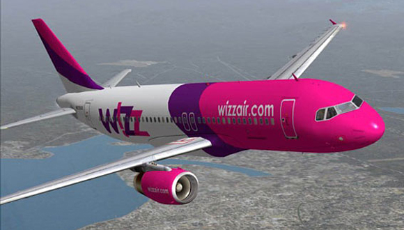 Wizz Air запустил новый авиамаршрут в Украину