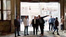 Сегодня в «Экополисе ХТЗ» Ярославского показали, где будут собирать трамваи