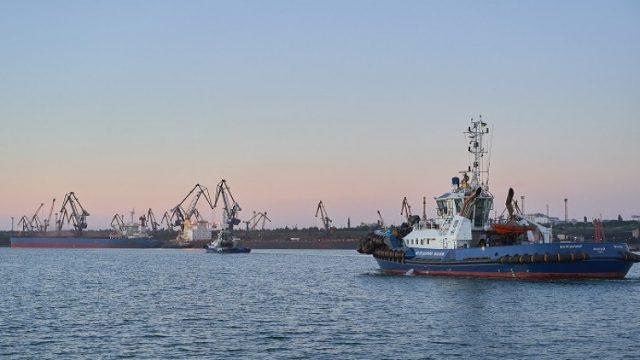 Порт Южный перевыполнил план обработки грузов в полтора раза