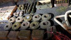 СБУ из тайников боевиков изъяла почти 100 тыс. боеприпасов