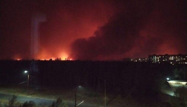 Пожары на Луганщине: число жертв увеличилось