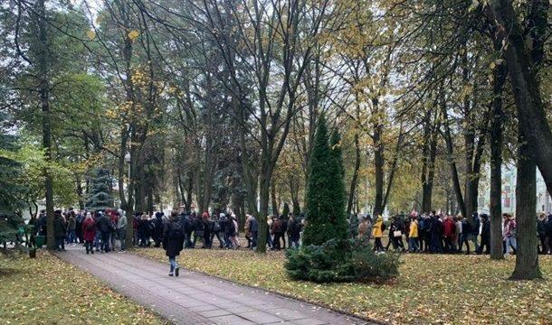 В Минске силовики разогнали студенческий протест