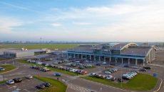 Пассажиропоток аэропорта «Киев» снизился на 70%