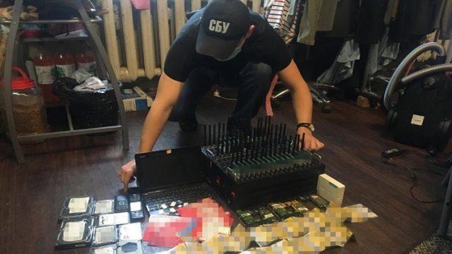 СБУ блокировала деятельность «ботофермы», которую спонсировали из РФ