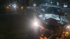 В Броварах пьяный полицейский на пешеходном переходе сбил двух женщин