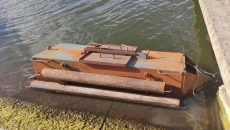 Пограничники обнаружили подводную лодку контрабандистов