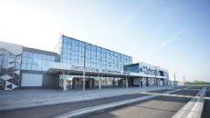 В новом терминале аэропорта Запорожье «поработали» вандалы