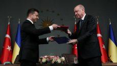 Украина и Турция подписали ряд двусторонних документов