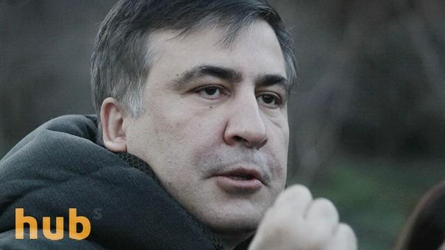 В Афинах неизвестный напал на Саакашвили (ВИДЕО)